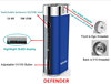 2015 New Arrival Defender Big Capacity Ecig Battery Adaptor for Both Internal & Outer thread tank