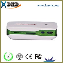 hot new products for 2015 3g wifi router with sim card slot with power bank