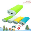 high quality factory wholesales wallet power bank 5000mah for mobile phone