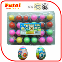 10g Egg toy eyeball sweets