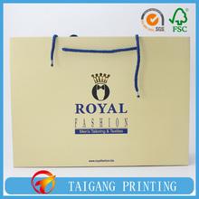 FSC Customized Luxury Recycle Cheap Shopping Paper Bag,Paper Shopping Bag,Paper Bag Price