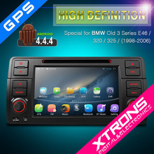 """PF7146BA-7"""" Android 4.4.4 Multi-touch Screen GPS Bluetooth OBD2 WIFI Car DVD Player for BMW Old 3 Series E46 / 320 / 325"""