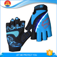 Half Finger Led flashing Mountain Bike Gloves