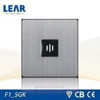 Modern design F1 range voice control light switch