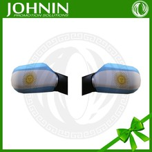 hot sale car mirror cover sock of argentina flag