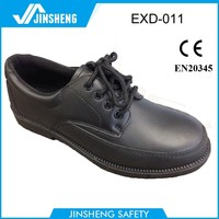 $8.3 Leather Cheap Middle East executive dress safety shoes