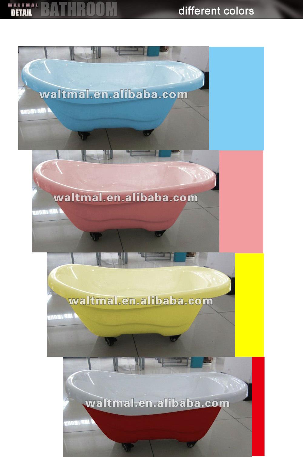 movable Baby Acrylic Bathtub, Dog Bathtub, small children bathtub