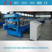 Shaoxing smartech metal making galvanized steel deck floor roll forming machine