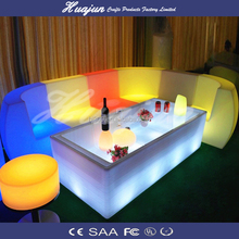 Hight quality led sofa LED modern sale cheap plastic sofa/plastic lighting led sofa