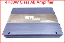 4CH*80W Audio Power Amplifier Module