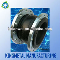 German standard expansion rubber joint with flange