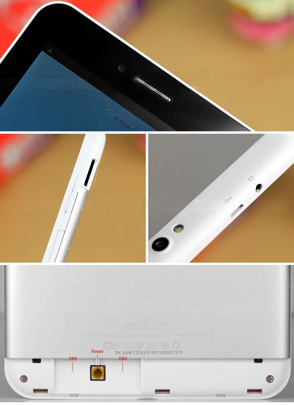 Планшетный ПК 1 3G GPS Bluetooth tablet pc Ainol AX3 Numy Android 4.2.2 MTK8382 1,2