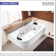 Whirlpool massage jets small corner tub shower