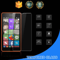 For Microsoft Nokia 540 handphone accessories 2015 no bubble tempered glass screen protector