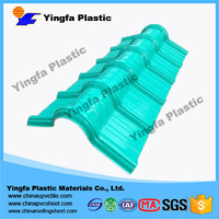 Chinese UPVC synthetic resin Roofing tile