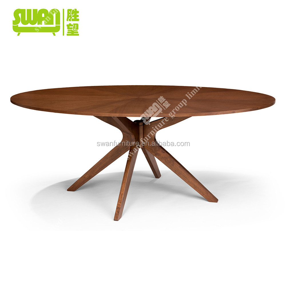 3041 high quality wood dinner table for Quality wood dining tables