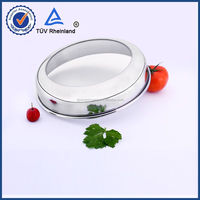adjustable pot lid with 201 s/s rim durable and nice