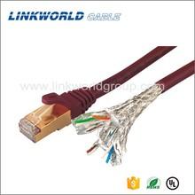 Fluke approved 24AWG RJ45 ethernet cat6 lan cable cat 6 utp cable