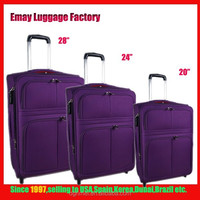 Factory Low price Carry-on 1680D Built-in Trolley Travel Luggage