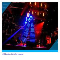 Laser Gloves dancing performance wear LED robot clothing