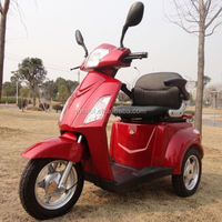 3 wheels electric powered 125cc eec motorcycles for old people