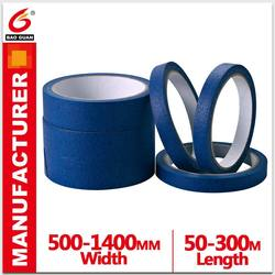 Good Conformability And Strong Holding Power No Adhesive Residue Masking Tape