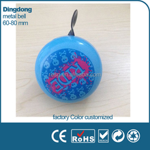 Metal spring cartoon customized children bike bell