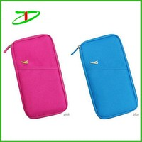 2015 new product small passport wallet, hot sale cheap wallet case