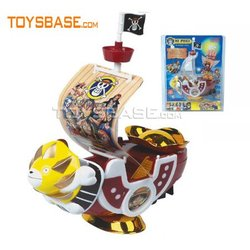 electric pirate ship toy