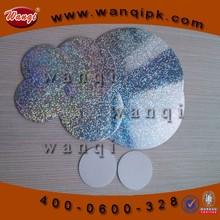 Aluminizing Pressure sensitive seal liner for bottle designe cosmetic CP-215
