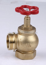 Pressure parts of a fire hydrant and landing valve for fire fighting