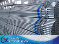 pre galvanised round hollow section steel tube with zinc coating 60g gsm