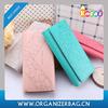 Encai Fashion Triple Folding Lady's Leather Wallets Hot Design Women Fancy Purses With Cards Slots Wholesale