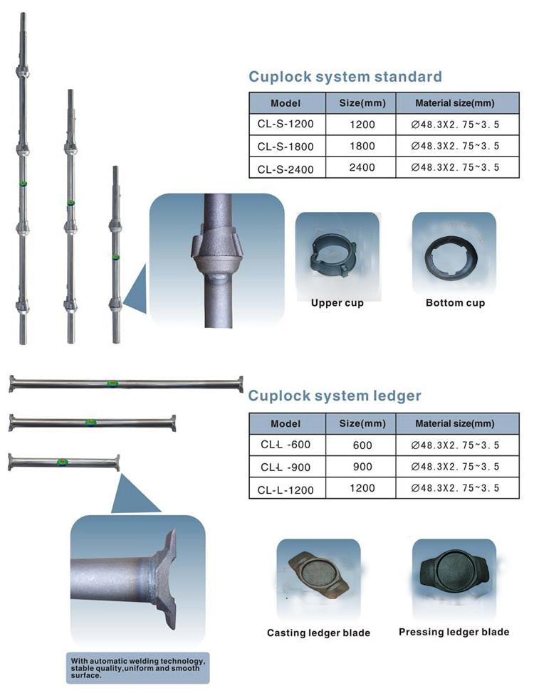 Cuplock Cup Top : China supplier cheap scaffold cuplock scaffolding