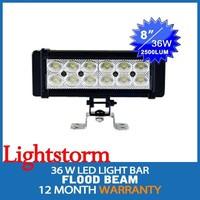 JGL led light bar! Hotselling 36w 4x4 off road led light bar 12v led work light bar off road