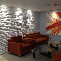 Fireproof embossed 3d wallpaper for home decoration