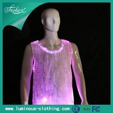 luminous dance wear man's vest