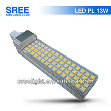 g24/e27 13w lamp pl l 4p led