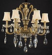2015 hot sale high quality gold chandelier
