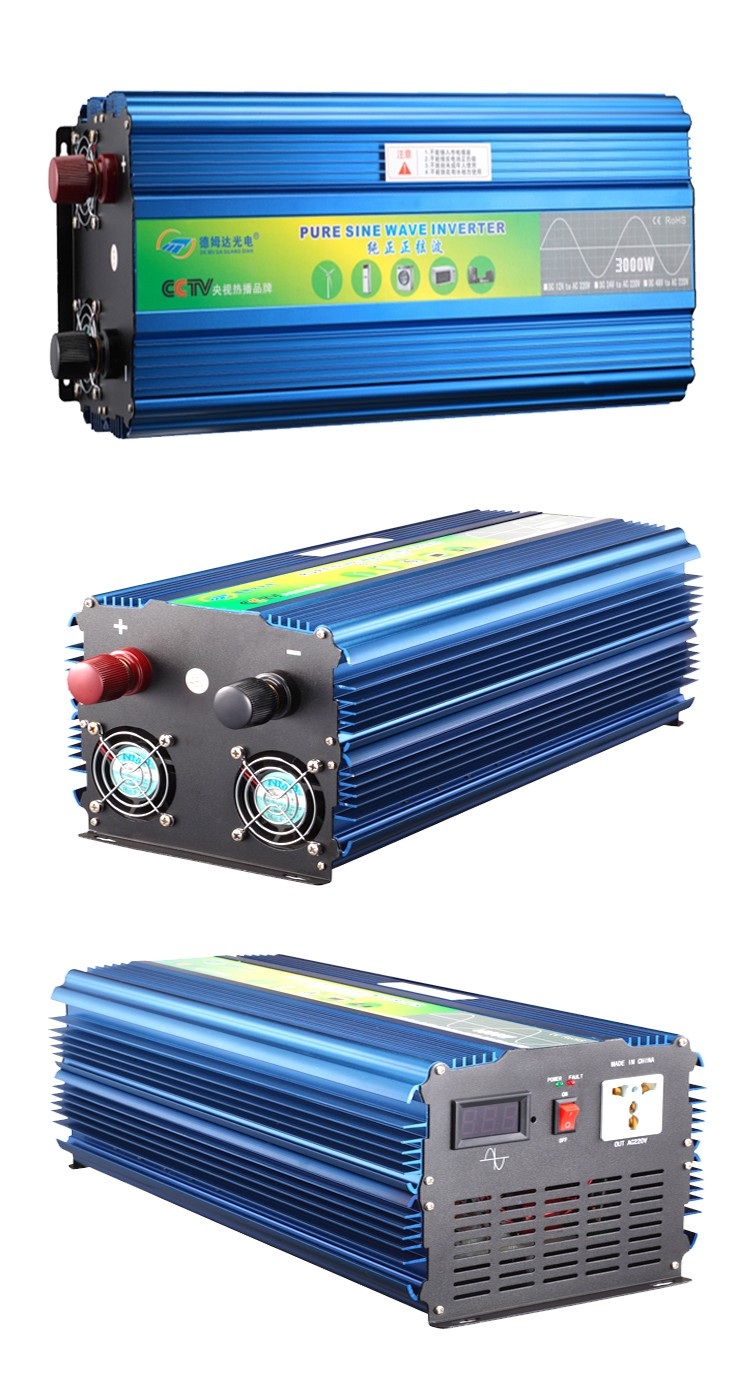 Clean And Green Energy Pure Sine Wave Grid Off Inverter 3000w 12v 1