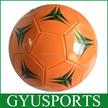 GY-B672 new design cheap football ball with OEM service Smooth Surface Cheap Soccer Balls PU size 5 cheap luminous footballs
