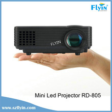 Perfect Gift RD-805 HDMI /AV/VGA/SD/USB Home cinema Mini Led video Projector