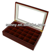 High end matt finish MDF wooden essential oil box