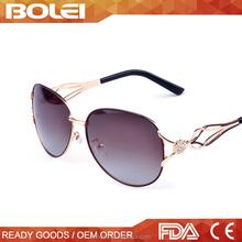 Vintage round shape metal sunglasses for fashion women BL-DXA163