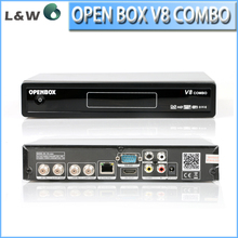 Openbox V8 COMBO DVB-S2 + DVB-T2 Twin Tuner HD Satellite Receiver Support IPTV WiFi SetIP DLNA GPRS 3G Youtube IP CCcam Receiver