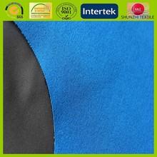4-ways mechanical stretch bonded polar fleece /waterproof breathable TPU film 3 layer softshell fabric for outdoor ski wear