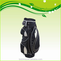delicate mens factory price golf bag with wheels golf cart bag