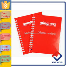 all kinds of size office supply personalized different colorful writing notebooks for school