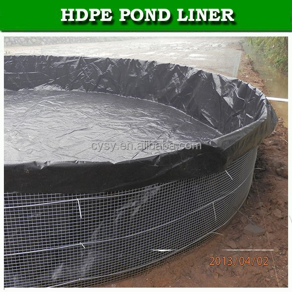 Agriculture outside waterproofing pond liner fish plastic for Fish pond tanks for sale