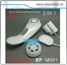 Beperfect wholesale home use waterproof electric face and body cleaning brush looking for exclusive distributor